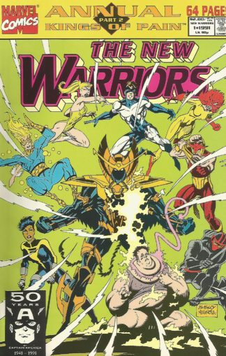 New Warriors Annual #001