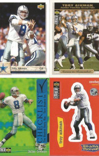 Troy Aikman Cards Lot 3