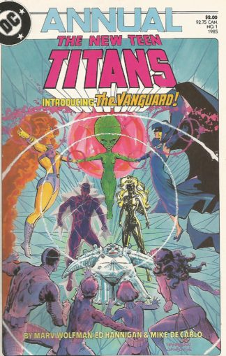 New Teen Titans Volume 2 Annual #001