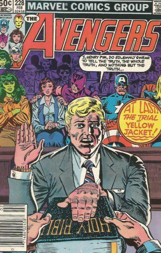 Avengers #228