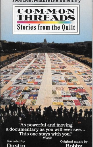 Common Threads Stories From the Quilt VHS 1990
