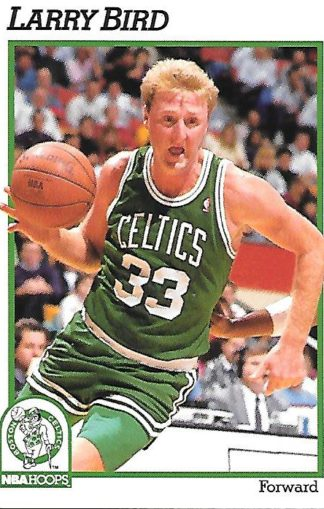 1991-92 Hoops #009 Larry Bird