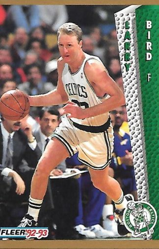 1992-93 Fleer #011 Larry Bird