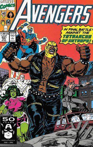 Avengers #331