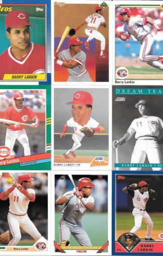 Barry Larkin Cards