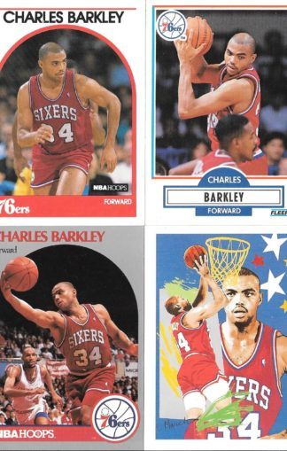 Charles Barkley Cards Lot 1