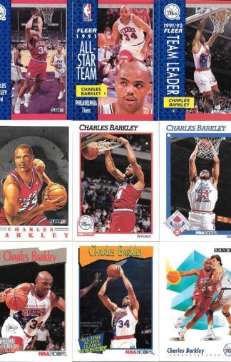 Charles Barkley Cards Lot 2