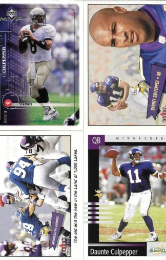 Daunte Culpepper Cards