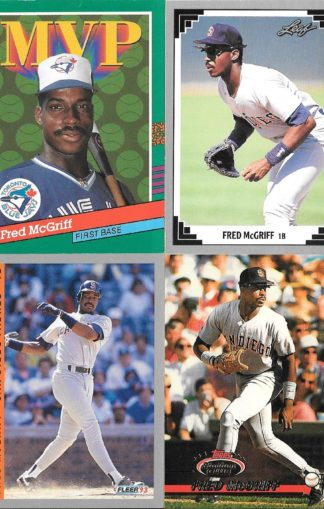 Fred McGriff Cards