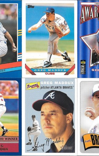Greg Maddux Cards