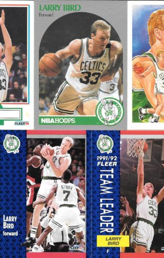 Larry Bird Cards Lot 1