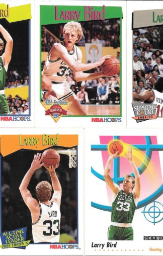 Larry Bird Cards Lot 2