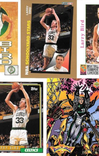 Larry Bird Cards Lot 3
