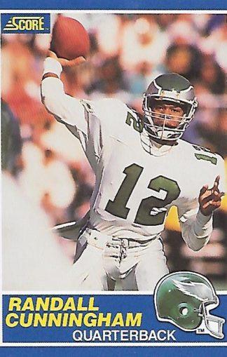 1989 Score #075 Randall Cunningham