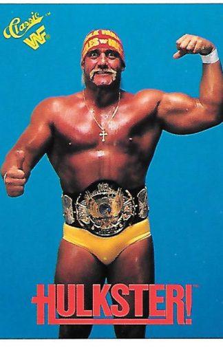 1990 Classic WWF #125 Hulk Hogan