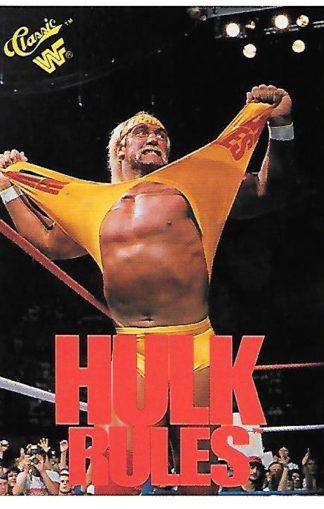 1990 Classic WWF #129 Hulk Hogan