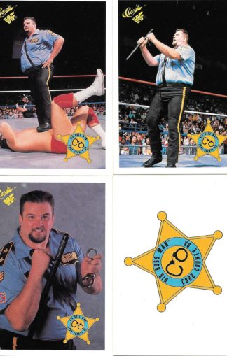 1990 Classic WWF Big Boss Man