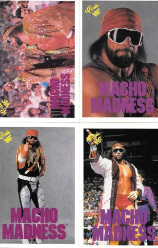 1990 Classic WWF Macho Man Randy Savage
