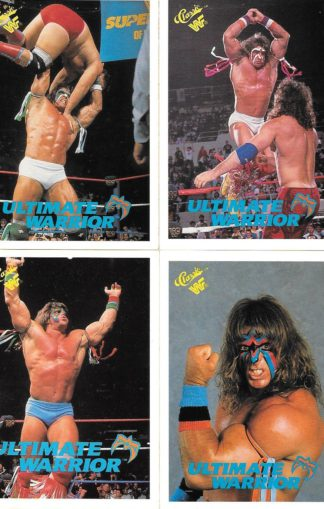 1990 Classic WWF The Ultimate Warrior
