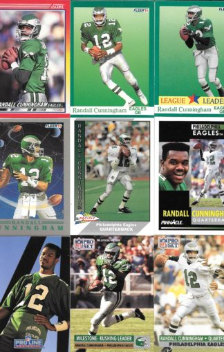 Randall Cunningham Cards Lot 2