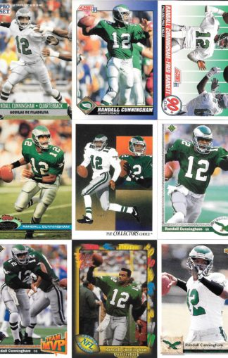 Randall Cunningham Cards Lot 3