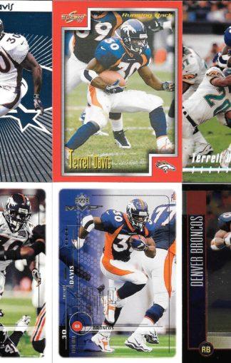 Terrell Davis Cards Lot 2