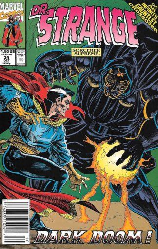 Doctor Strange, Sorcerer Supreme #034