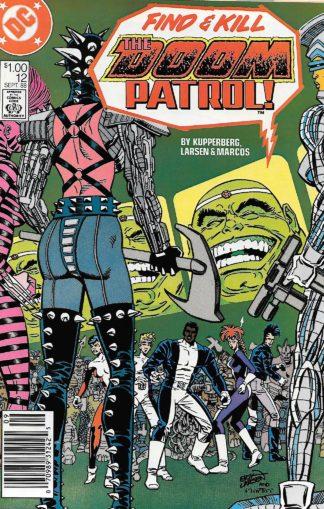 Doom Patrol Volume 2 #012