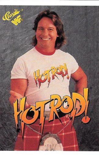 1990 Classic WWF #013 Rowdy Roddy Piper