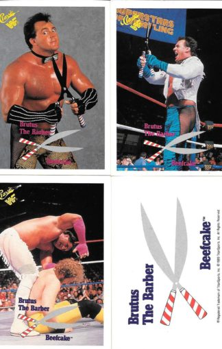 1990 Classic WWF Brutus the Barber Beefcake