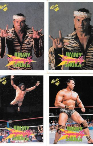 1990 Classic WWF Superfly Jimmy Snuka