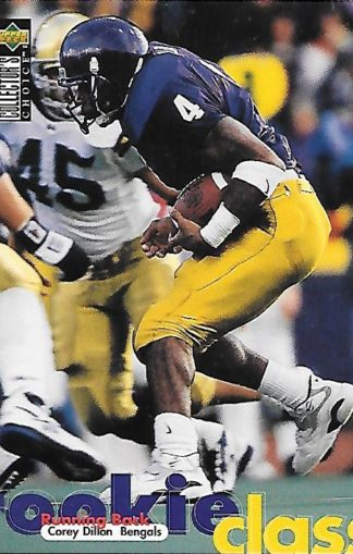 1997 Collector's Choice #166 Corey Dillon Rookie