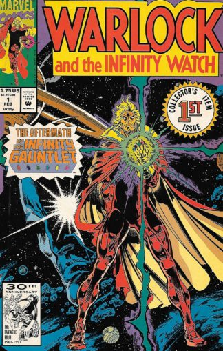 Warlock and the Infinity Watch #001