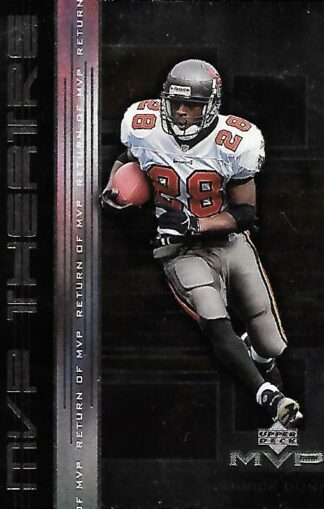 1999 Upper Deck MVP Theatre #M010 Warrick Dunn