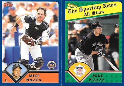 Mike Piazza 2003 Topps Lot