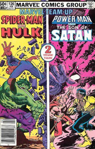 Marvel Team-Up #126