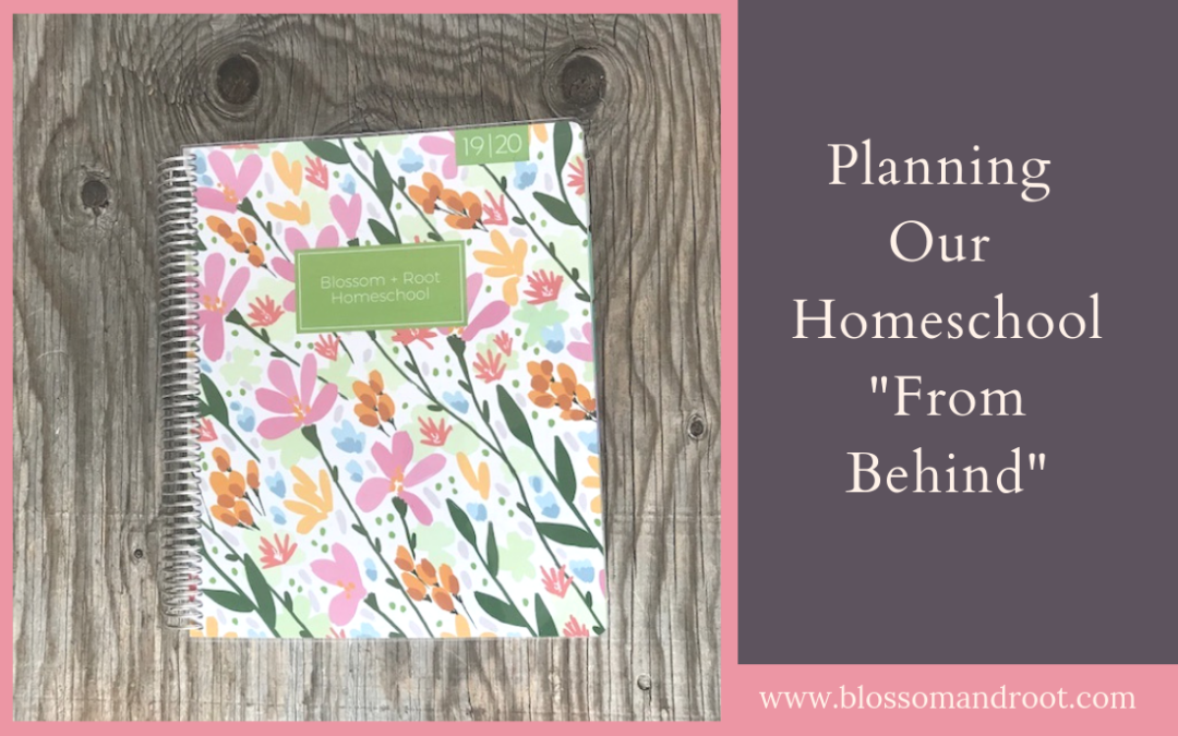 relaxed homeschool planning