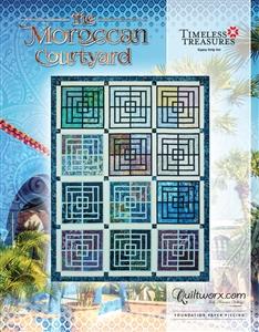 Moroccan Courtyard Cover