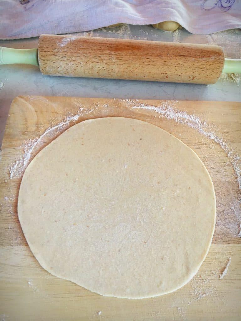 Spelt flour tortilla's