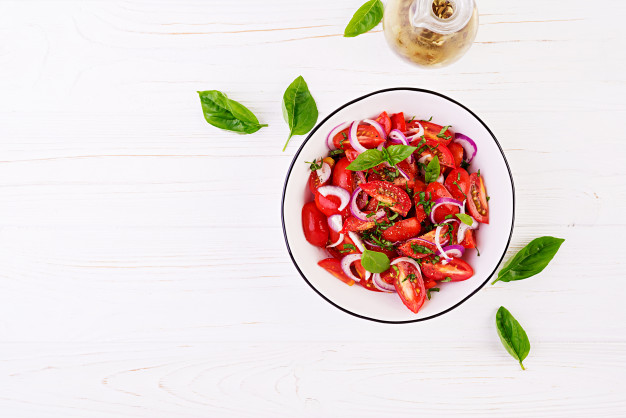 Summer Tomato Salad Recipe