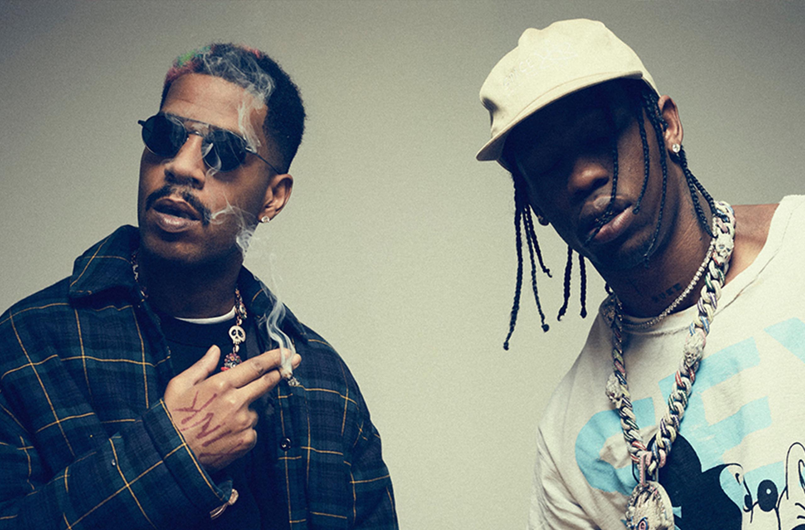 Kid Cudi and Travis Scott are working on a joint project