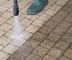 Pressure Cleaning Before and After Images