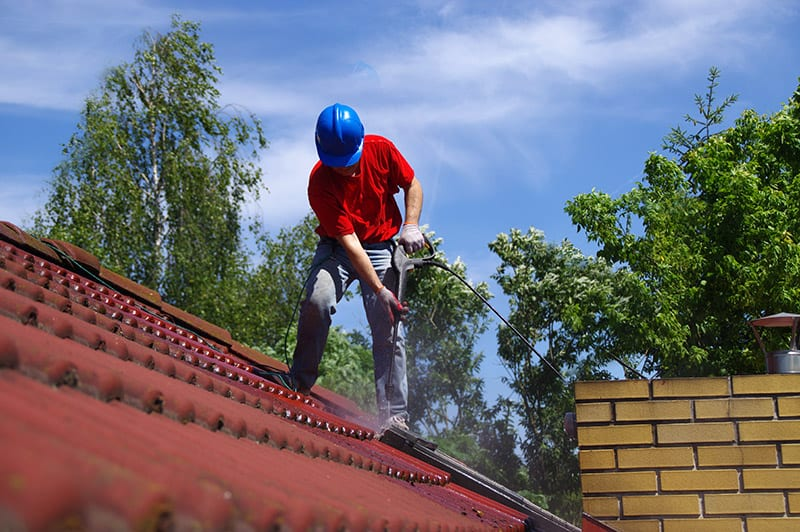 GHMS Home Management Delray Beach - Roof Pressure Cleaning