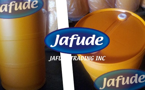 Jafude Soybean Cooking Oil Supplier in the Philippines Plastic Drum package