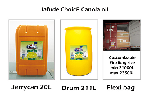 Jafude ChoicE canola oil-jerrycan_drum_flexibag_Filipino manufacturers and B2B suppliers of Canola Oil