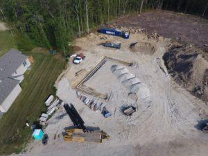 briarwood falls - CT - groundwork