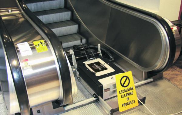 treadmaster escalator cleaner