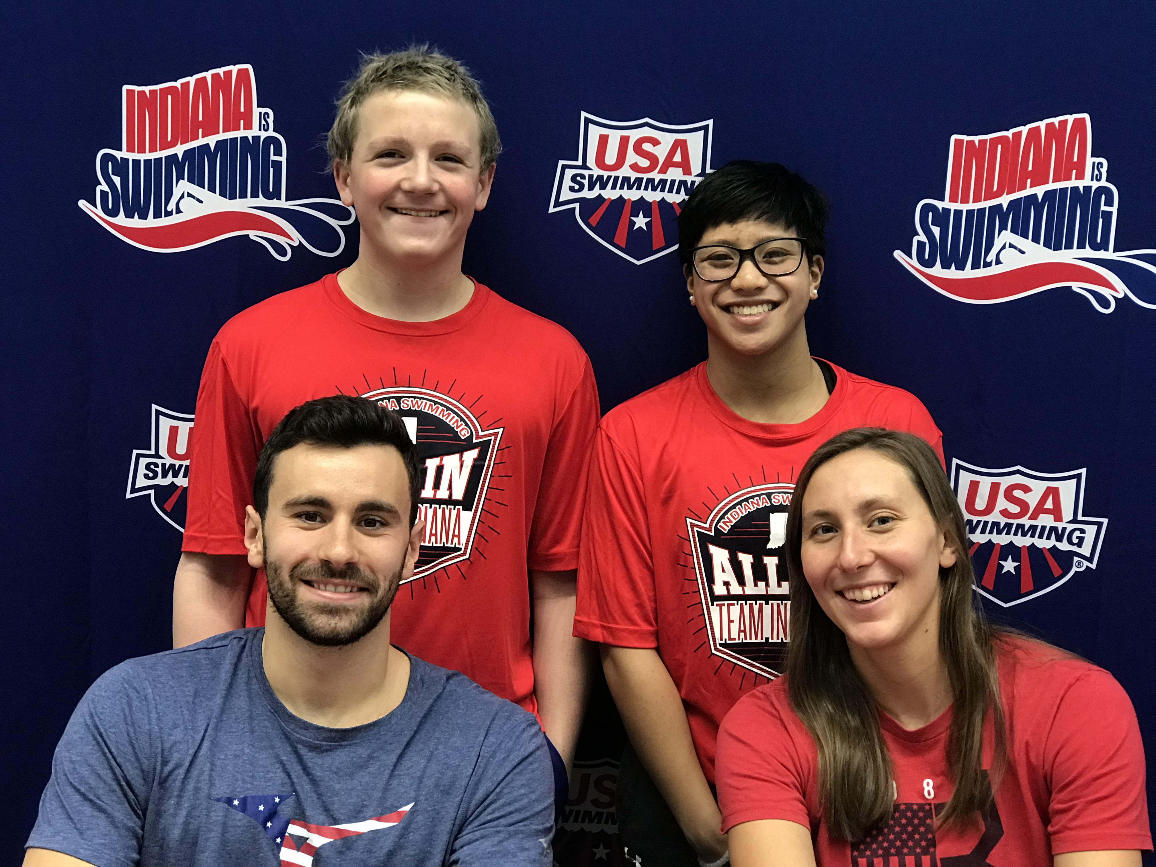 Club Olympia Swimmers Compete for Team Indiana at the 2019 Mid-States All-Star Championships