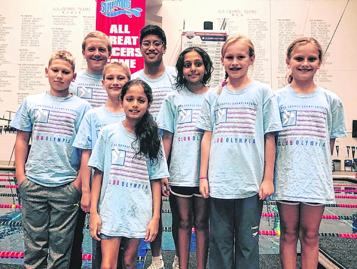 Club Olympia Swimmers shine at Age-Group State Championships