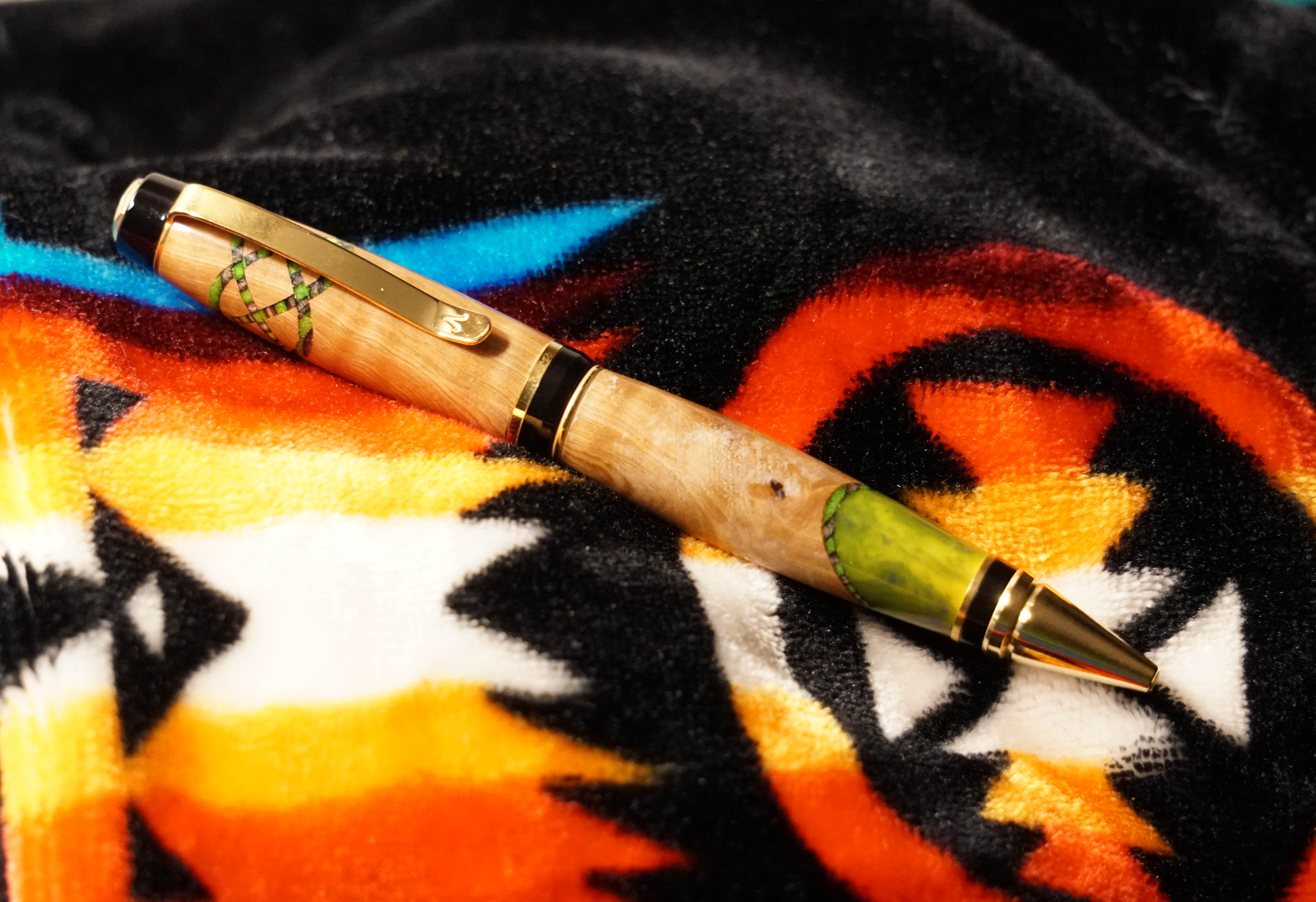 Wood Pen Suriname Cherry